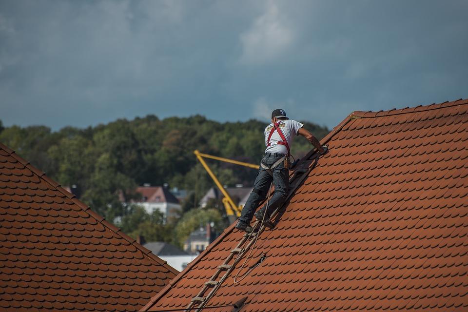 Une fuite sur le toit