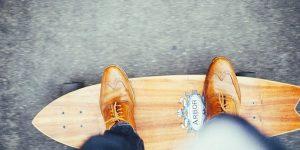 Vous n'avez jamais été aussi à l'aise sur un skate board!